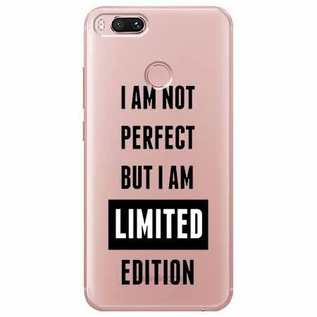 Etui na Xiaomi Mi 5x - I Am not perfect…