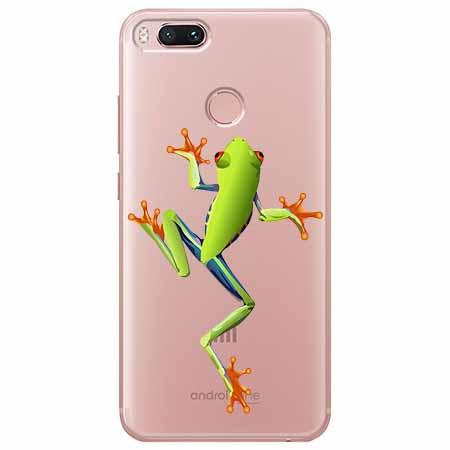 Etui na Xiaomi Mi 5x - Zielona żabka.