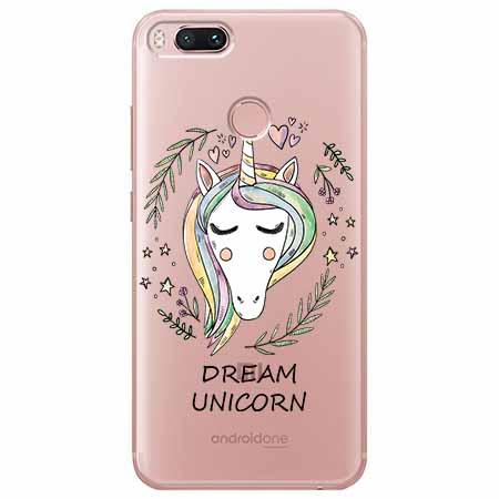 Etui na Xiaomi Mi 5x - Dream unicorn - Jednorożec.
