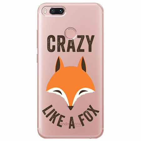 Etui na Xiaomi Mi 5x - Crazy like a fox.