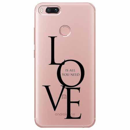 Etui na Xiaomi Mi 5x - All you need is LOVE.