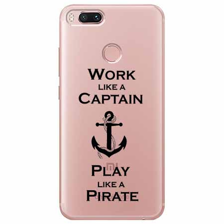 Etui na Xiaomi Mi 5x - Work like a Captain…