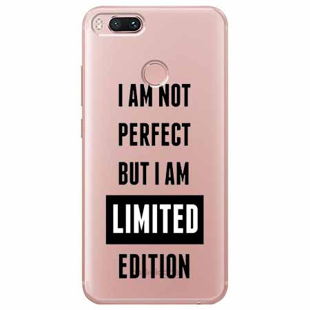 Etui na Xiaomi Mi A1 - I Am not perfect…
