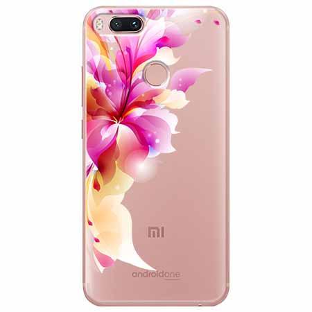 Etui na Xiaomi Mi A1 - Bajeczny kwiat.