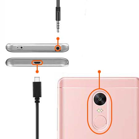 Etui na Xiaomi Note 4 Pro - Złota czterolistna koniczyna.