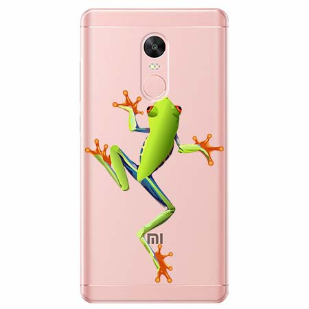 Etui na Xiaomi Note 4 Pro - Zielona żabka.