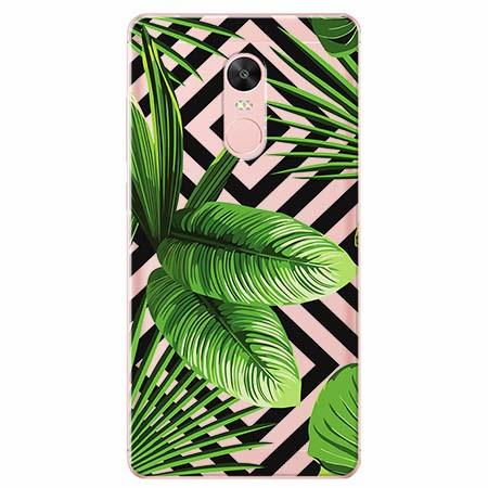 Etui na Xiaomi Note 4 Pro - Egzotyczne liście bananowca.