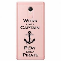 Etui na Xiaomi Note 4 Pro - Work like a Captain…