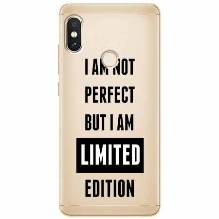 Etui na Xiaomi Note 5 Pro - I Am not perfect…