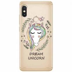 Etui na Xiaomi Note 5 Pro - Dream unicorn - Jednorożec.