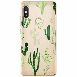 Etui na Xiaomi Note 5 Pro - Kaktusowy ogród.