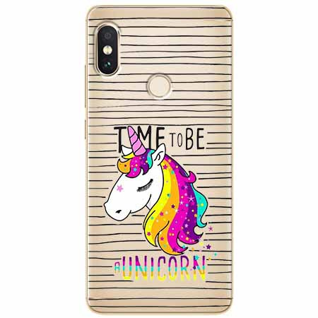Etui na Xiaomi Note 5 Pro - Time to be unicorn - Jednorożec.