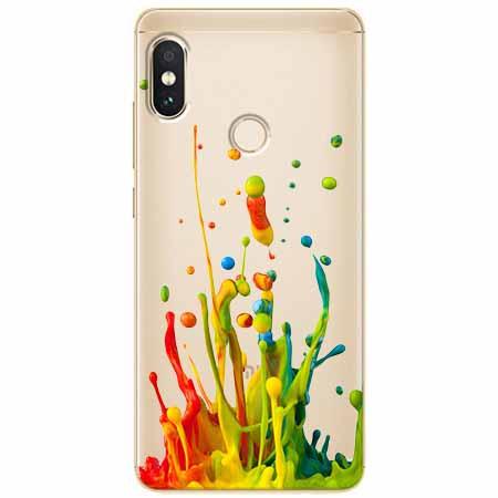 Etui na Xiaomi Note 5 Pro - Kolorowy splash.