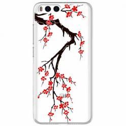 Etui na Xiaomi Mi 6 - Krzew kwitnącej wiśni.