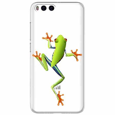 Etui na Xiaomi Mi 6 - Zielona żabka.