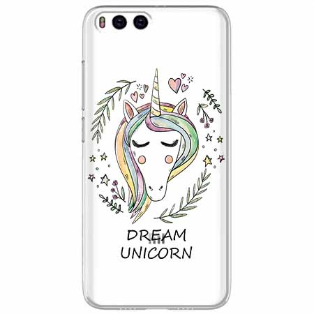Etui na Xiaomi Mi 6 - Dream unicorn - Jednorożec.