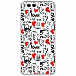Etui na Xiaomi Mi 6 - Love, love, love…