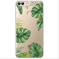 Etui na Huawei P Smart - Egzotyczne roślina monstera.