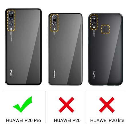 Etui na Huawei P20 Pro - Zafalowane.