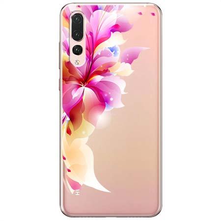 Etui na Huawei P20 Pro - Bajeczny kwiat.