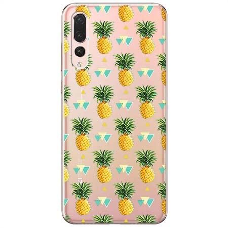 Etui na Huawei P20 Pro - Ananasowe szaleństwo.