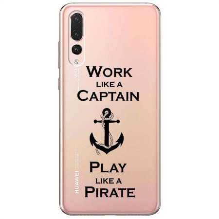 Etui na Huawei P20 Pro - Work like a Captain…