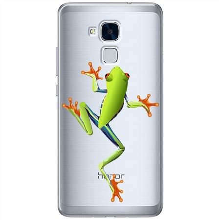 Etui na Huawei Honor 7 Lite - Zielona żabka.