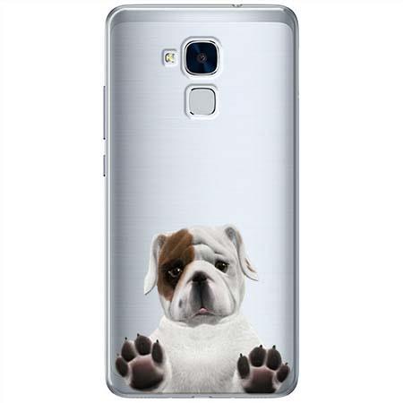 Etui na Huawei Honor 7 Lite - Słodki szczeniaczek.