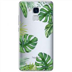 Etui na Huawei Honor 7 Lite - Egzotyczna roślina Monstera.