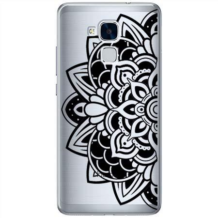 Etui na Huawei Honor 7 Lite - Kwiatowa mandala.
