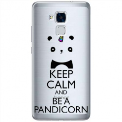 Etui na Huawei Honor 7 Lite - Keep Calm… Pandicorn.