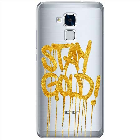 Etui na Huawei Honor 7 Lite - Stay Gold.