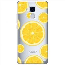 Etui na Huawei Honor 7 Lite - Cytrynowe orzeźwienie.