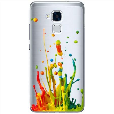 Etui na Huawei Honor 7 Lite - Kolorowy splash.