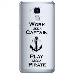 Etui na Huawei Honor 7 Lite - Work like a Captain…