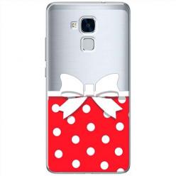 Etui na Huawei Honor 7 Lite - Gustowna kokardka.