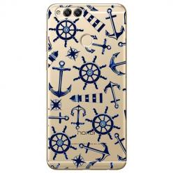 Etui na Huawei Honor 7X - Ahoj wilki morskie.