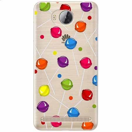 Etui na Huawei Y3 II - Kolorowe lizaki.