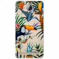 Etui na Huawei Y3 II - Egzotyczne tukany.