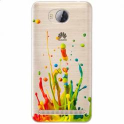 Etui na Huawei Y3 II - Kolorowy splash.