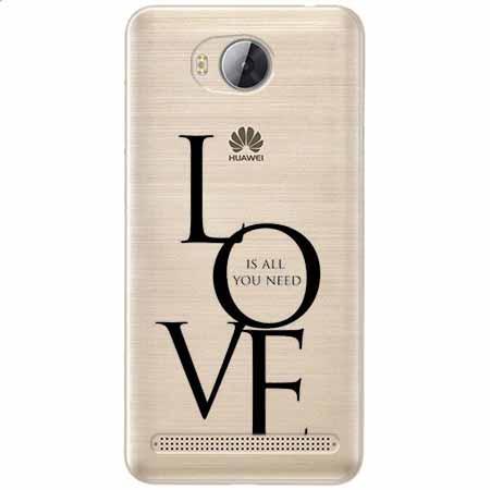 Etui na Huawei Y3 II - All you need is LOVE.
