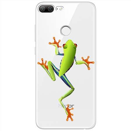 Etui na Huawei Honor 9 Lite - Zielona żabka.