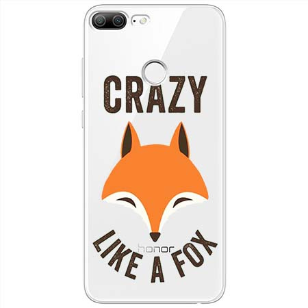 Etui na Huawei Honor 9 Lite - Crazy like a fox.