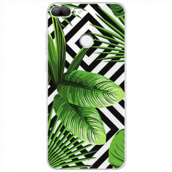 Etui na Huawei Honor 9 Lite - Egzotyczne liście bananowca.