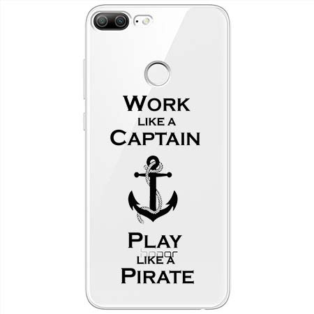 Etui na Huawei Honor 9 Lite - Work like a Captain…