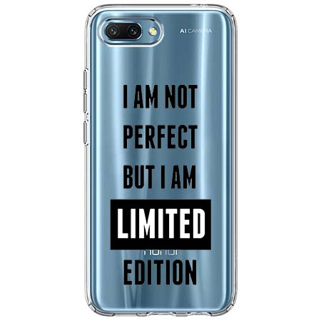 Etui na Huawei Honor 10 - I Am not perfect…