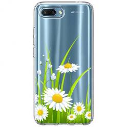Etui na Huawei Honor 10 - Polne stokrotki.