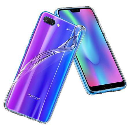 Etui na Huawei Honor 10 - Tęczowe piórka.