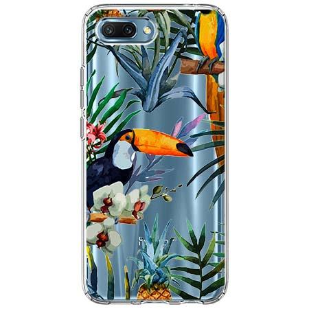 Etui na Huawei Honor 10 - Egzotyczne tukany.