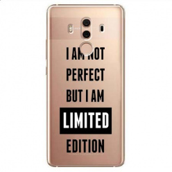 Etui na Huawei Mate 10 Pro - I Am not perfect…